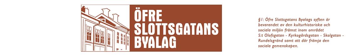 Öfre Slottsgatans byalag